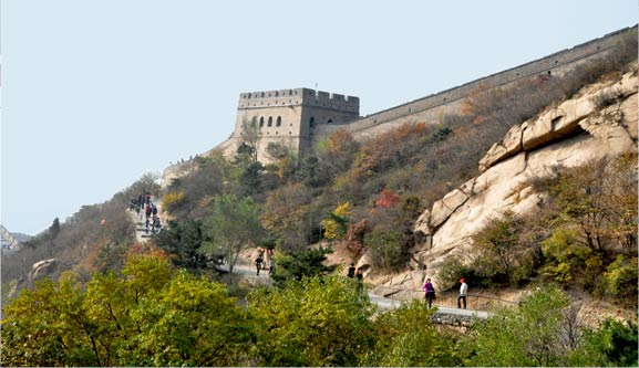 Badaling great wall of china