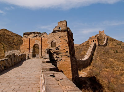 great wall of china watch tower