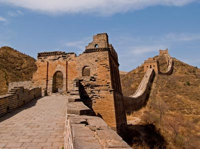 Great Wall of China watchtowers